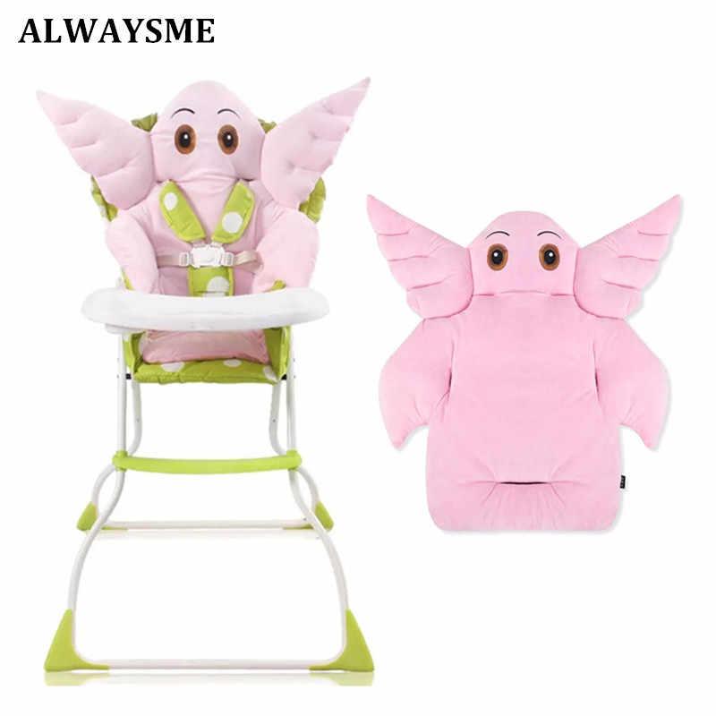 ALWAYSME для маленьких детей, детские чехлы для стульев, подстилки, коврики, подушки для кормления, подушки для коляски, красивые подушки для сидений