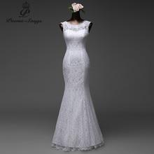 Poemssongs su ordine di alta qualità del merletto di lunghezza del pavimento Della Sirena abiti Da Sposa 2020 vestido de noiva abiti da Sposa