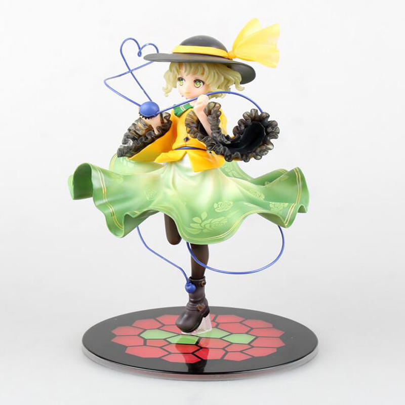 Japan Touhou Project Komeiji Koishi 1/8 Scale Painted PVC children cartoon gifts doll Action Figure Collectible Model Toy T5767 marine pharmaceutical compounds