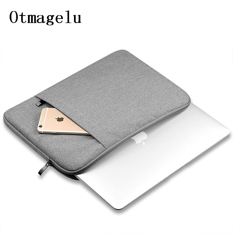 Laptop Bag For MacBook Air Pro 11 12 13 15 Inch Notebook Bags Scratchproof Computer Protective Case Storage Bag Laptop Sleeve