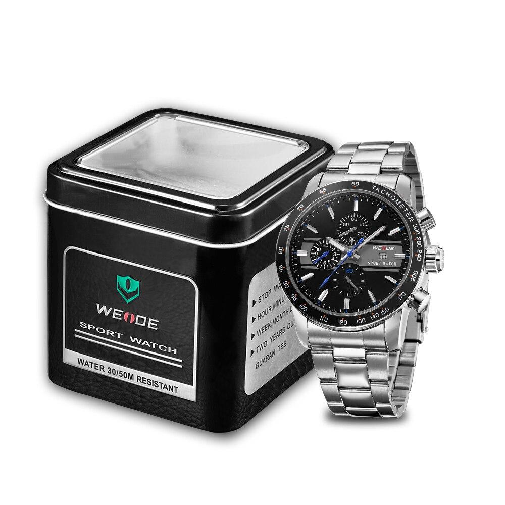 Weide 2017 topquartz reloj deportivo reloj casual genuino papel de - Relojes para hombres - foto 6