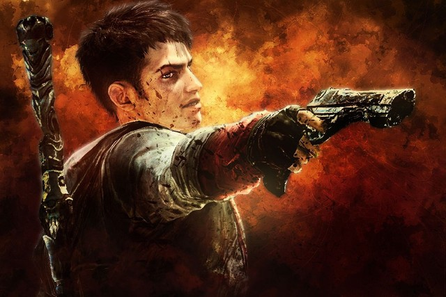 devil may cry 5 game dante poster 12 x18 print silk fabric art wall