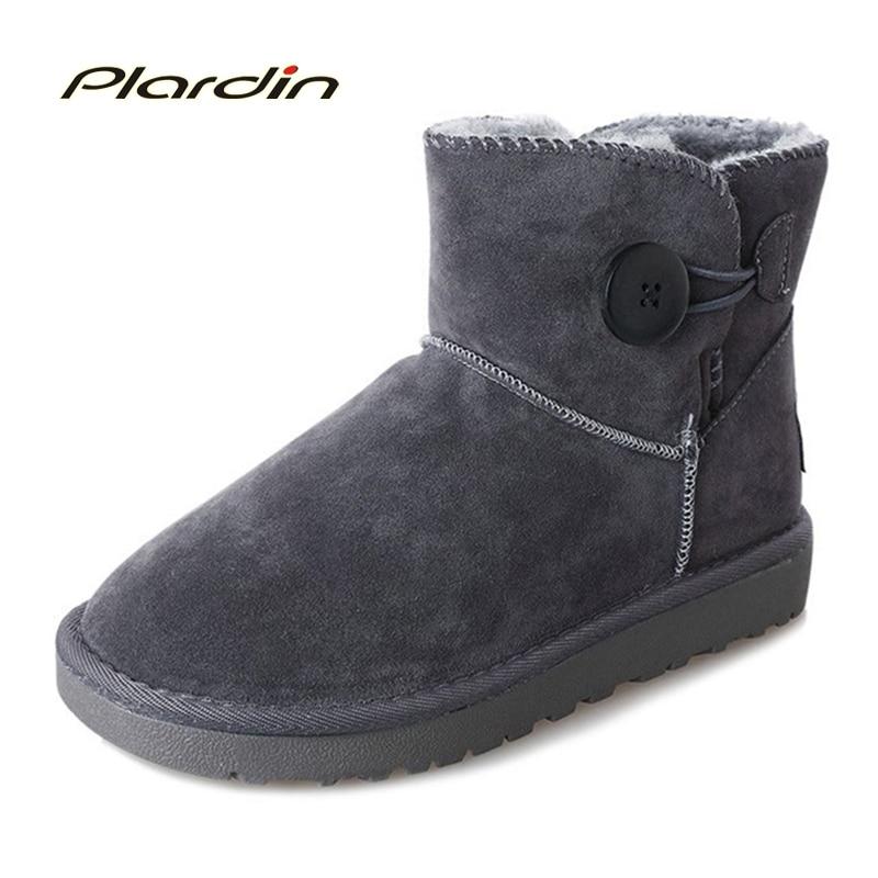 Winter warm snow boots short boots women 's shoes plus cotton cashmere short boots wild boots girls students couple models