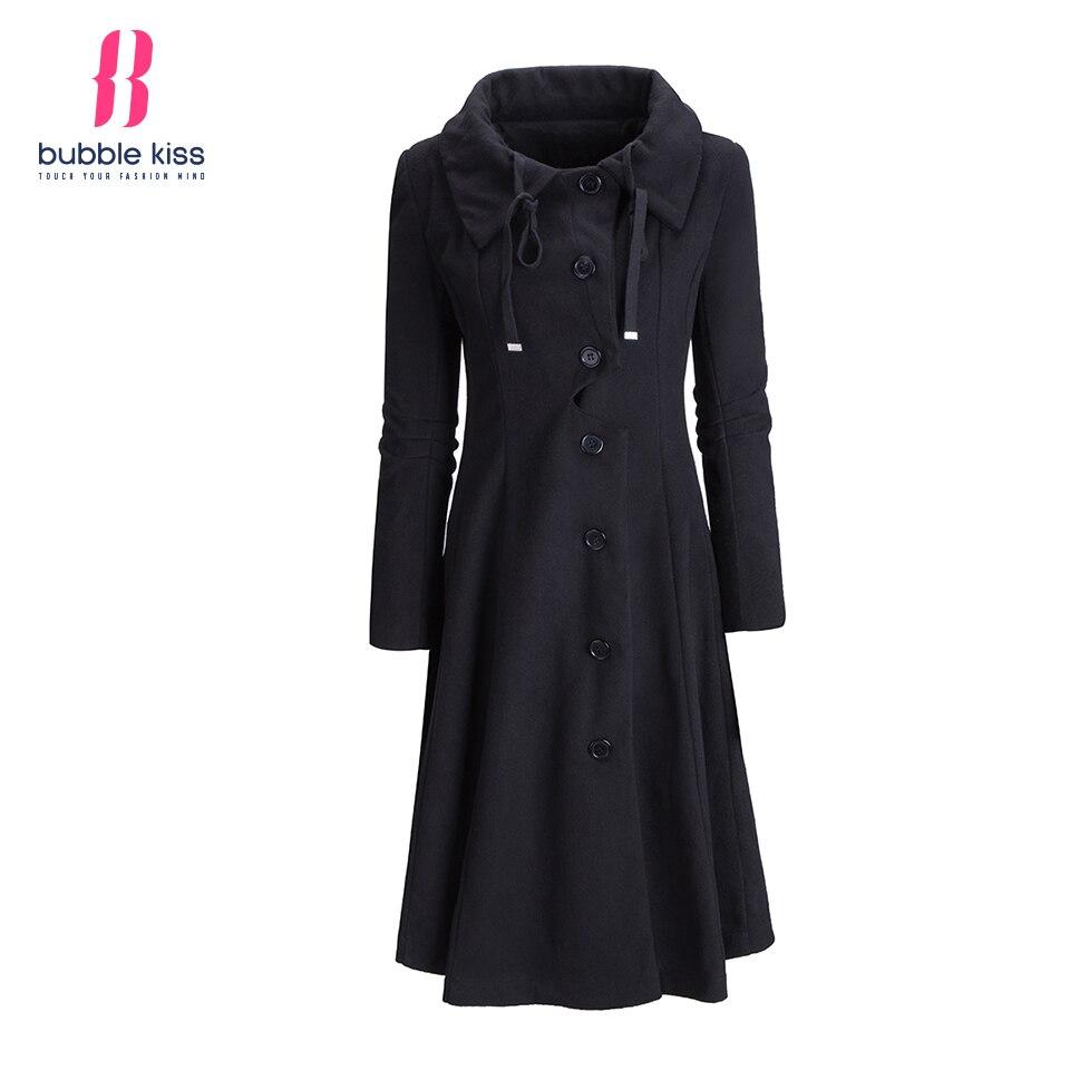 Woman Coat Women Wool Coats 2016 Winter Single Breasted ...