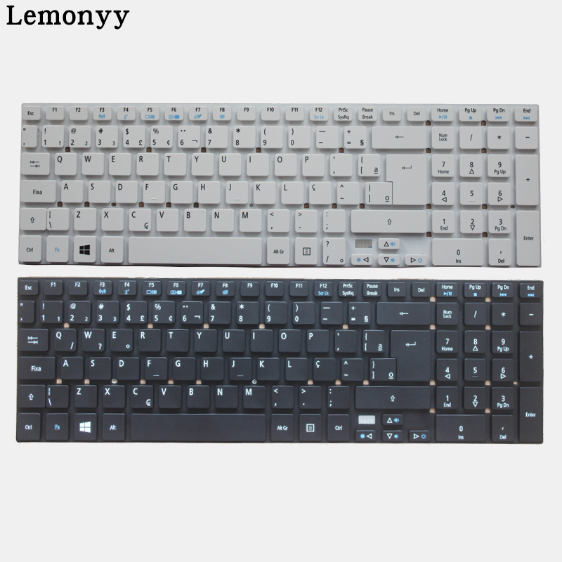 NEW Brazil/BR Laptop Keyboard for Acer Aspire E5 511 E5 511 P9Y3 E5 511G E1 511P E5 521G E5 571 E5 571G ES1 512 ES1 711 ES1 711G-in Replacement Keyboards from Computer & Office on