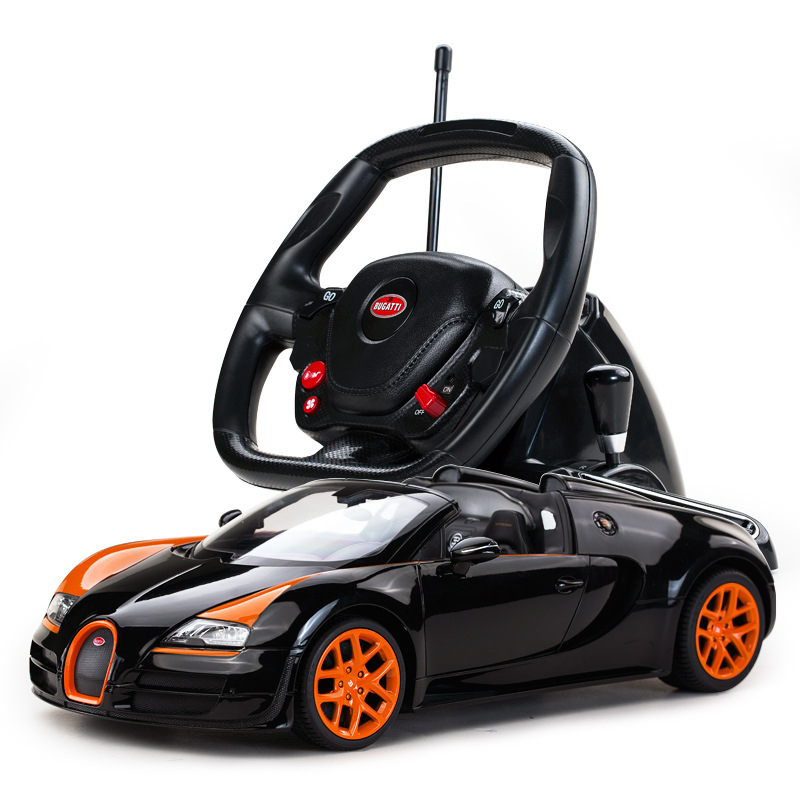 Star Bugatti steering wheel remote childrens toys car, remote control cars,RC CARS ...