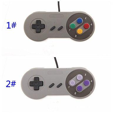Hot 1x Super Game Controller SNES USB Classic Gamepad for PC MAC Games for Win98/ME/2000/2003/XP/Vista/Windows7/8/ Mac os