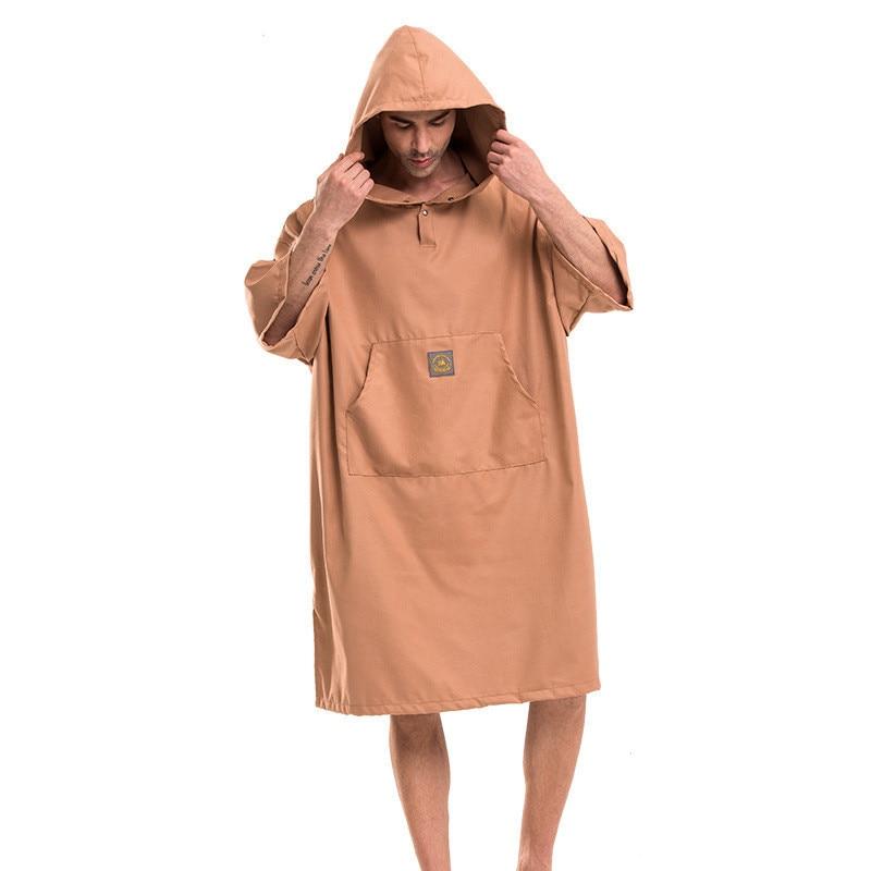 Manta Mobula Printing Changing Robe Bath Towel Outdoor Adult Hooded Beach Towel Poncho Bathrobe Towels Women