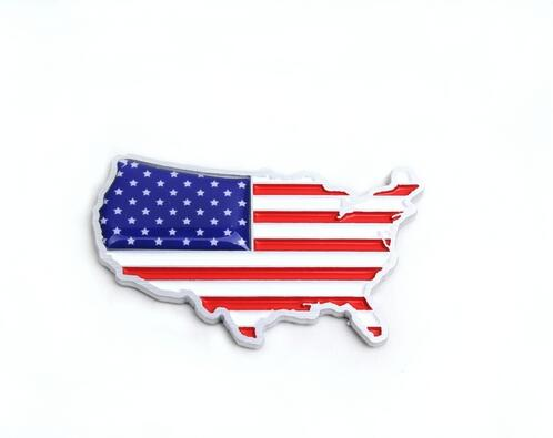 Online Get Cheap American Flag Sticker Aliexpresscom Alibaba Group - China map in us flag