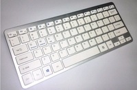 Ultra Slim Multimedia Aluminium Wireless Keyboard Bluetooth 3 0 For Apple IPad MacBook Android Phone PC