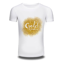 DY 206 Mens T Shirts Printed Hiphop Cotton White Short Sleeved Club T Shirt Tops mens