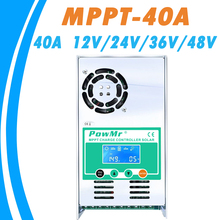 MPPT 40A Discharge-Controller Solar-Charge Li-Powmr 24V 36V And 48V Auto 12V for Max-190vdc
