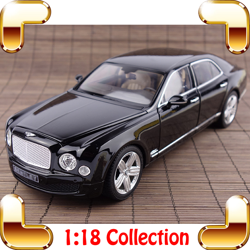 Hot Sale Gift MOUSSE 1/18 Large Model Car Alloy Car Toy Luxe Collectie Detail Everything Men Best Present Car Fans Showcase
