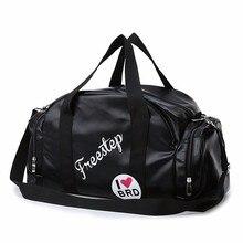 Fashion Woman PU Leather Travel Organizer Duffle Bag Large Capacity Men's Luggage Clothes Big Malas Mala De Viagem Vs