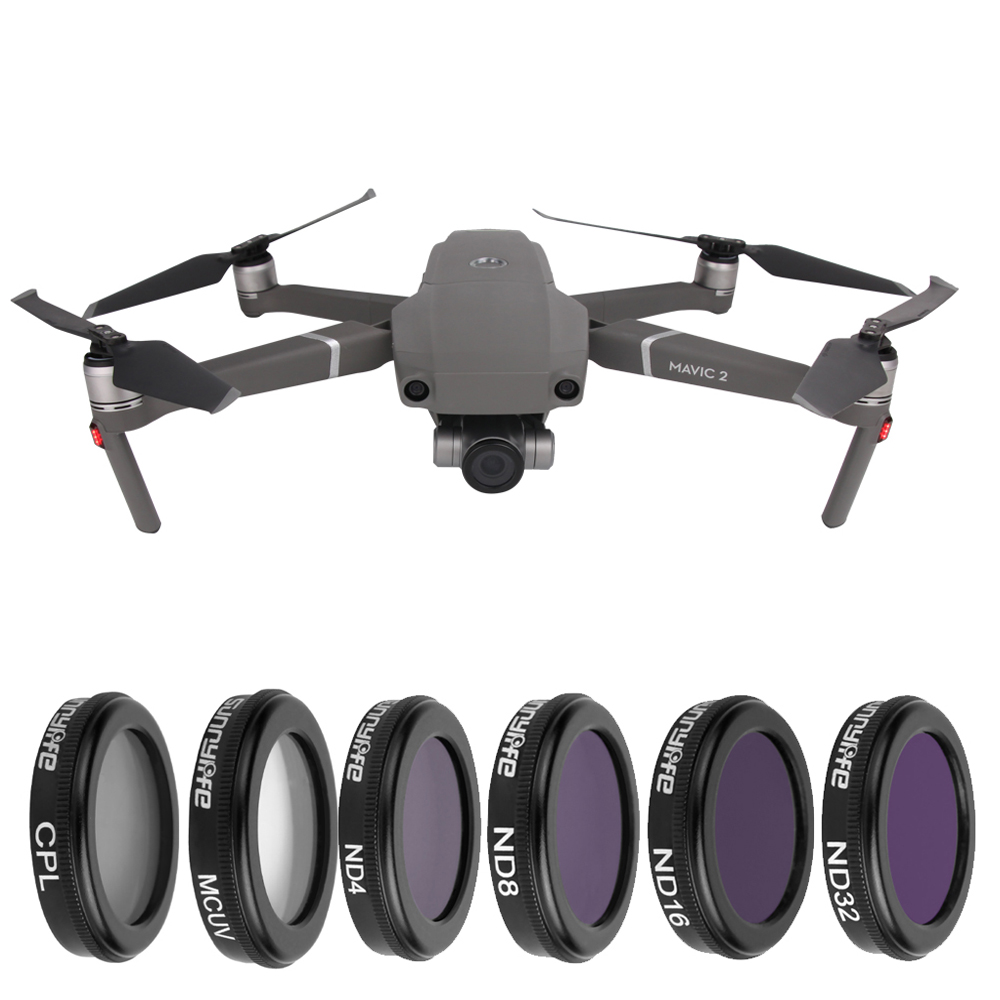 3/4/6 Lens filters Kit DJI Mavic 2 Zoom 4K Camera MCUV CPL ND4 ND8 ND16 ND32 filter Set for DJI Mavic 2 Zoom Drone Accessories jt â je t âlene блузка