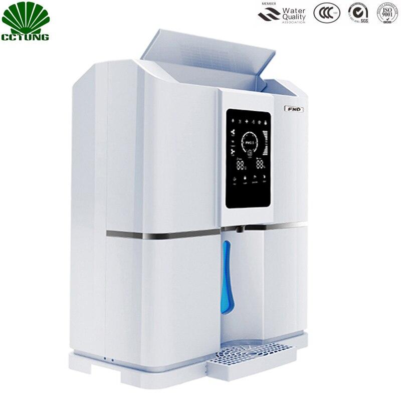 Hogar 20L/D puro aire atmosférico al tratamiento de agua dispensador generador inteligente ro filtro y NFC código- escaneo partido Tech