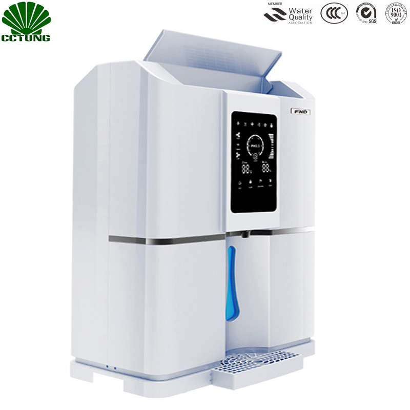 Maison 20L/D Pur Atmosphérique Air à L'eau Traitement Distributeur Générateur avec Intelligente RO Filtre & NFC Code-balayage Match Tech
