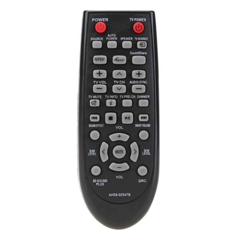 Universal Replacement Audio Player Remote Control Unit for Samsung HW-F450 HWF450 Soundbar Remote Control