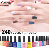 61508 Newest 60 Color Venalisa UV LED Nail Gel Polish Kit Bright Colorful 7 5ml