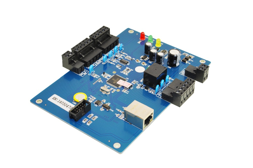 ФОТО TCP/IP Network Access Control Board one door two ways SIZE 158 MMX130MM remotes open door fire protection