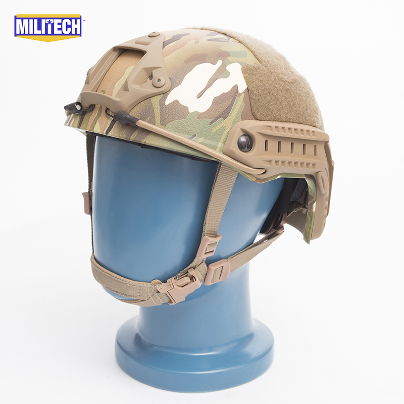 MILITECH FAST Multicam FA Style Super ABS Airsoft Tactical Helmet Ops Core Style High Cut Training Helmet Ballistic Style Helmet fast aor2 pj carbon style vented airsoft tactical helmet ops core style high cut training helmet fast ballistic style helmet
