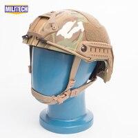 SNELLE Multicam FA Stijl Super ABS Airsoft Tactical Helm/Ops Core Stijl Hoge Cut Training Helm/SNELLE Ballistische Stijl Helm