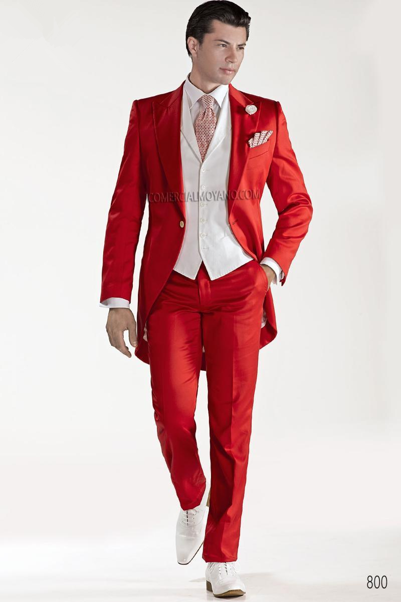 Popular Red Tuxedo Tailcoat Buy Cheap Red Tuxedo Tailcoat Lots From China Red Tuxedo Tailcoat