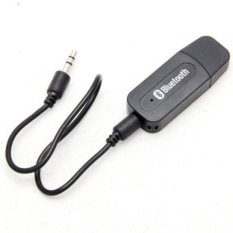 USB 3.5mm Aux Wireless Portable Mini Black Bluetooth Music