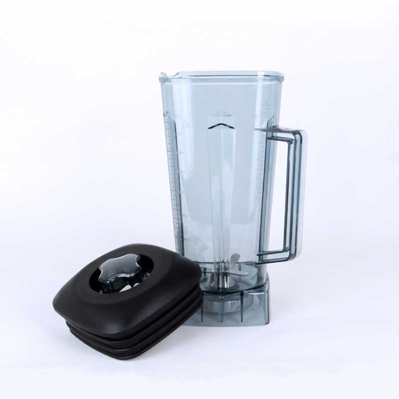 Commercial Blender Parts Accessories Blender Jar 2l With Mixer Blade Lid Kitchen Aid Blender Aspas Para Licuadora