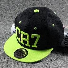 2016 nuevo verano los niños snapback sombreros de béisbol de los niños muchachas de los muchachos messi neymar ronaldo cr7 casquette hip hop capsula el envío libre