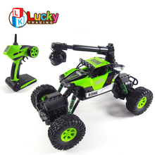 Top Sale Professional 4wd Waterproof Mobile Phone wifi Remote Control Car with Camera High Speed Climbing rc Cars Dirt Bike
