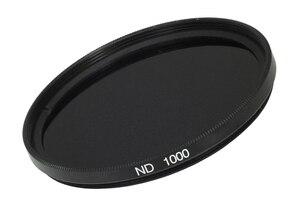 Image 1 - FOTGA 77mm slim Neutral density optical grade ND ND1000 filter for digital camera lens DV