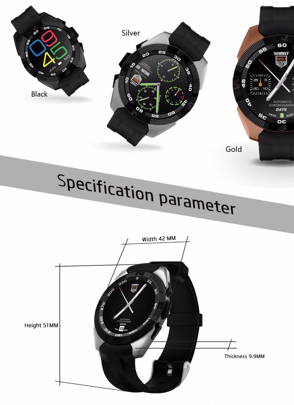 NO.1 G5 Smart Fitness Tracker  (11)