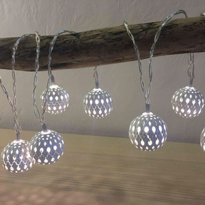 Image 4 - 10M Ball LED Christmas Garland Lights String Bedroom Fairy Lights Decoration For Wedding Home Holiday Lighting Party Light Chain