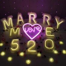 Лучший!  3D 26 Буквы Белый Светодиод Алфавит Свет Рождественский День Рождения Декор Лампы Романтическая  Лучший!