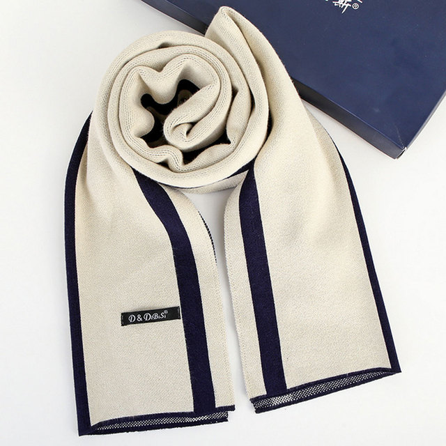 2017 new spring autumn winter hot style men scarf more high-grade  wool, pure color extended business warm couples business gift