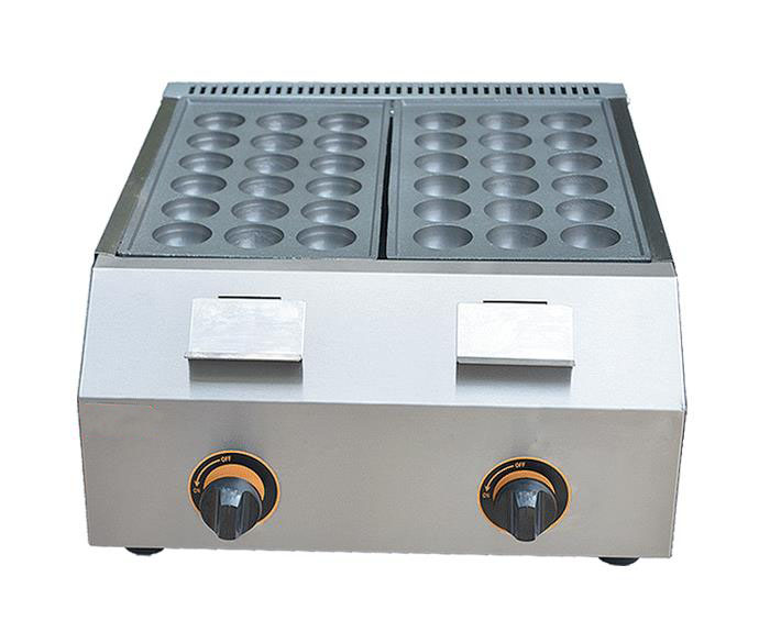 Free shipping  45mm Diameter Gas type Takoyaki Maker set with electric lighter  Fish Ball Machine