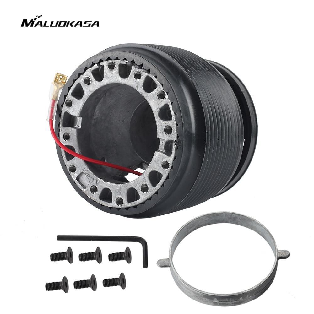 MALUOKASA Car Steering Wheel Hub Adaptor Boss Kit For Honda Civic EG EG2 EG6 EG9 DELSOL CRX Auto Accessories Steering-wheel Part