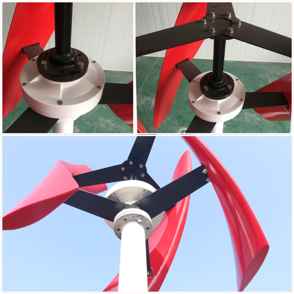 Fábrica uso doméstico streetlight uso turbina eólica