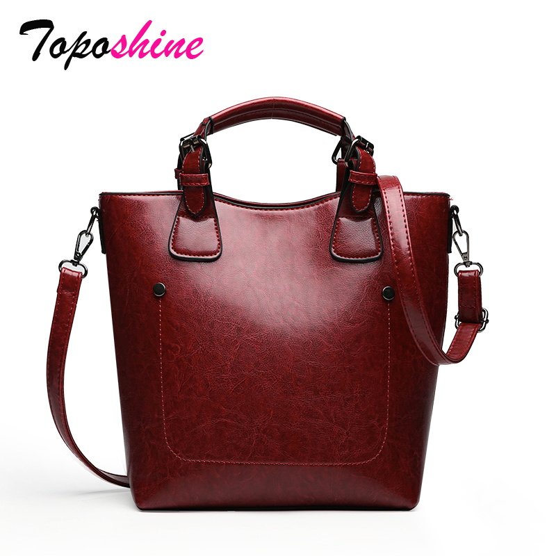 Ladies Handbag Bucket-Bag Messenger-Bag Wild-Shoulder Personality High-Quality Fashion