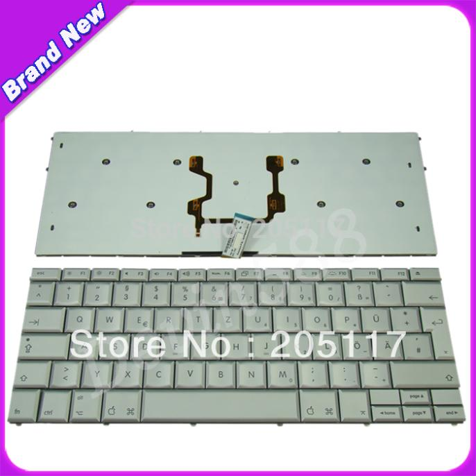 LAPTOP German Keyboard For Apple MacBook Pro 17 A1261 GR Deutsch Silver new laptop keyboard for ibm thinkpad e550 e555 e550c e560 e565 french belgian dutch deutsch german swiss turkish us layout