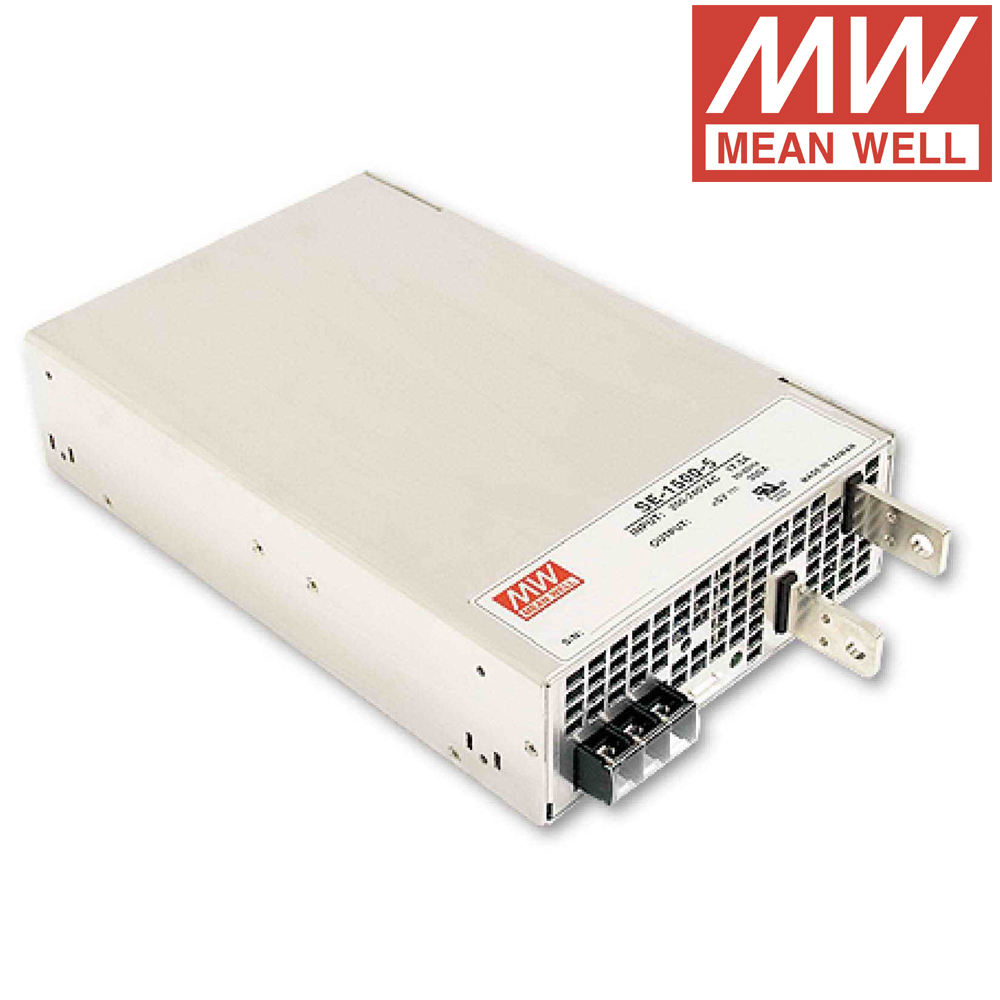 Meanwell SE-1500 DC 12V to 48V input 1500W Single Output Switching Power Supply single output uninterruptible adjustable 24v 150w switching power supply unit 110v 240vac to dc smps for led strip light cnc