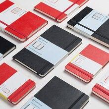 W stylu Vintage w twardej oprawie biznesowy notebook, klasyczny bandaż wyposażone wielofunkcyjny przenośny zeszyt: szkicownik/dziennik podróży A5 A6