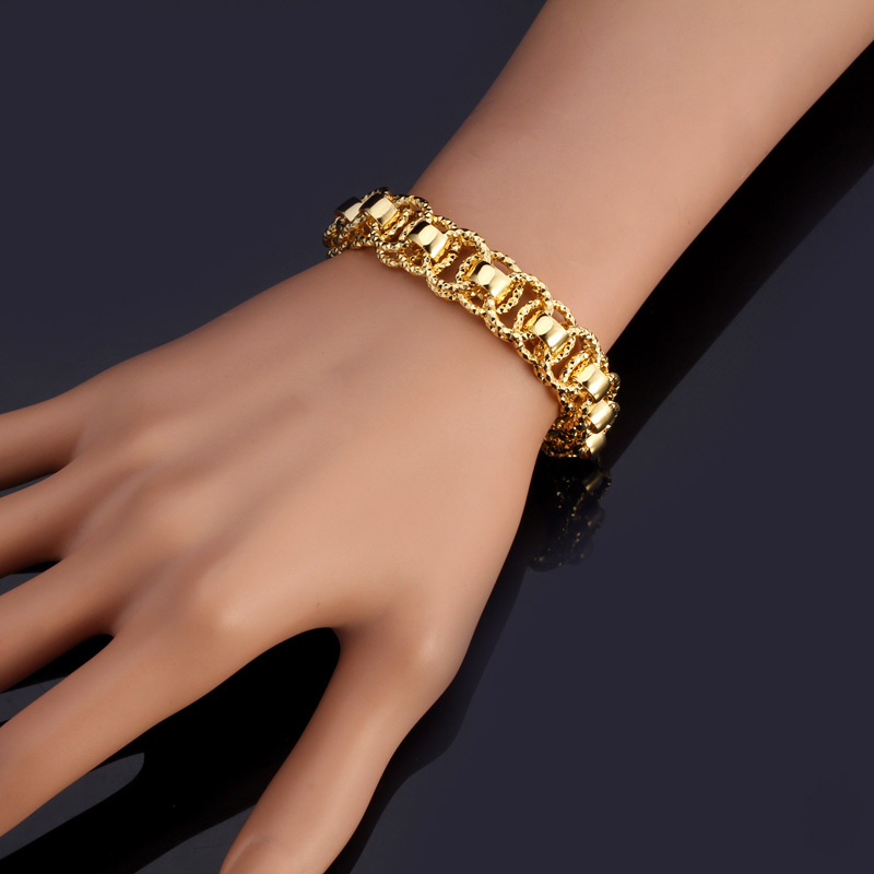 ring bracelet thick set gold nail index bangles bangle juste