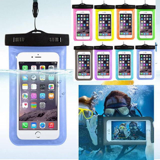 san francisco 2e0a8 ae7be US $2.92 32% OFF|Waterproof Pouch Case For Samsung Galaxy J7 2017 SM J730F  J730F J7 Pro Waterproof Bag Clear Water Resistant Phone Pouch-in Phone ...