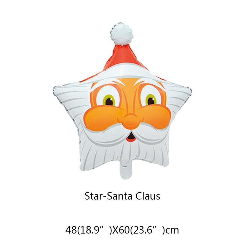 ᗑ】Niños juguete de dibujos animados regalos de navidad globos de ...