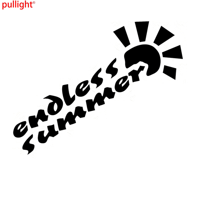 Endless summer sticker decal ozie surfing car suv wagon van beach ute
