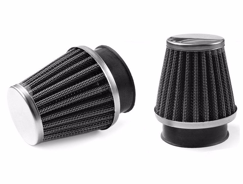 2pc 38MM-40MM 39MM For Motorcycle Power Scooter Cone race Air Filter Replacement 1