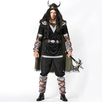 New King Bull's Battle Suit, Halloween Gypsy Warriors Cosplay Costume, Cupid, Ox Devil, Game Costume, Men's Clothing L1862189
