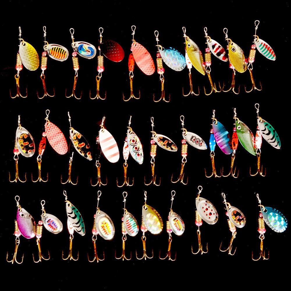 Спиннерс Рыболовную Приманку Смешанный цвет фото